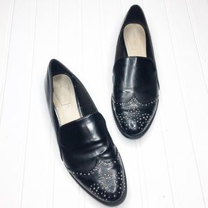 Zara | Shiny Studded Loafer